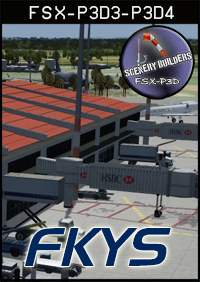 FSXCENERY - FKYS YAOUNDÉ NSIMALEN INTERNATIONAL AIRPORT FSX P3D